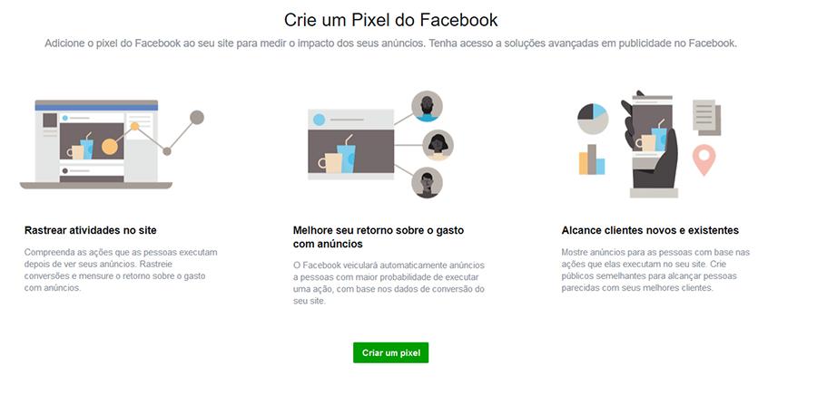2 Criar Pixel - Como Anunciar no Facebook Ads Em 5 Passos Simples
