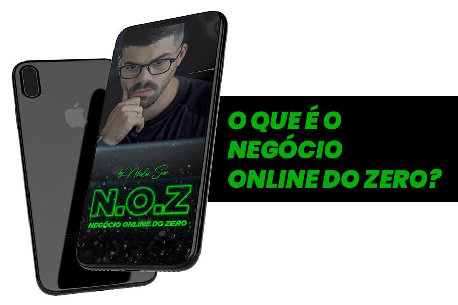 o que e o negocio online do zero - Negócio Online do Zero Nikolas Sasso Funciona Mesmo?